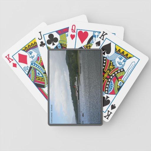 Naipes de la calidad del casino barajas de cartas