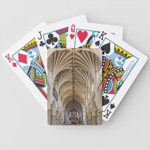 Naipes de la catedral de Exeter Barajas De Cartas