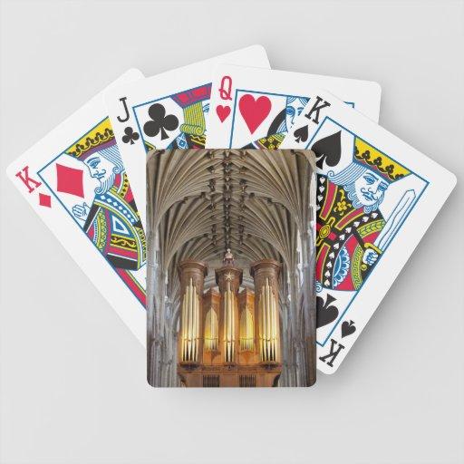 Naipes de la catedral de Norwich Cartas De Juego