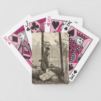 Naipes de la caza del arma de fuego de Winchester  Baraja Cartas De Poker