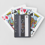 Naipes de la cinta de casete barajas de cartas