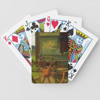 Naipes de la diversión del tractor del tirón del a baraja cartas de poker