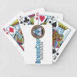 Naipes de la división del salvamento baraja cartas de poker