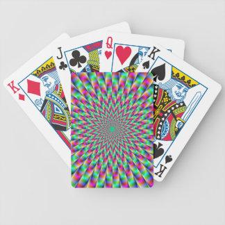 Naipes de la explosión de la estrella cartas de juego