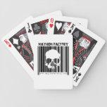 Naipes de la fábrica de la mutilación baraja de cartas