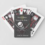 Naipes de la facción del pirata de StellarBrink Barajas De Cartas