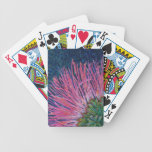 Naipes de la flor del Mimosa Baraja Cartas De Poker