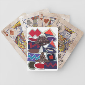 Naipes de la fuerza del gorrión cartas de juego