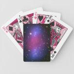 Naipes de la galaxia de Hubble y de Chandra Baraja
