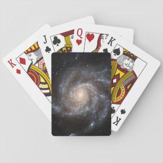 Naipes de la galaxia espiral (M101)