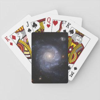Naipes de la galaxia espiral (NGC 1309)