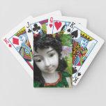 Naipes de la hada del jardín barajas de cartas
