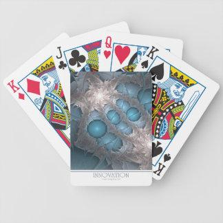 Naipes de la innovación barajas de cartas