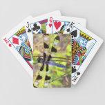 Naipes de la libélula barajas de cartas