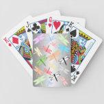 Naipes de la libélula cartas de juego