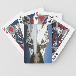 Naipes de la montaña baraja de cartas