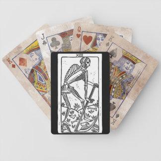 naipes de la muerte del tarot cartas de juego