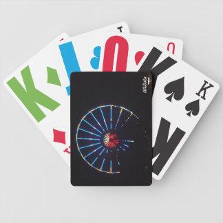 Naipes de la noria barajas de cartas