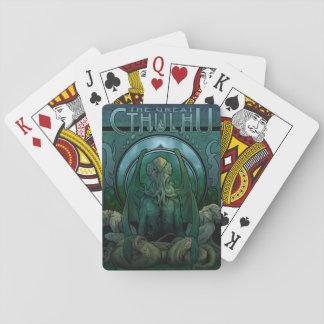 Naipes de la obra clásica de Cthulhu