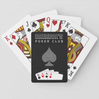 Naipes de la obra clásica del club del póker del j