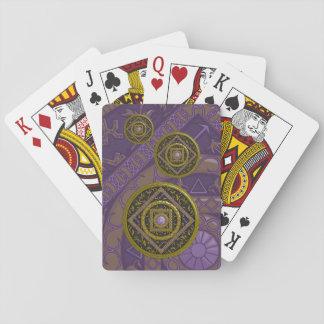 Naipes de la obra clásica del sagitario barajas de cartas