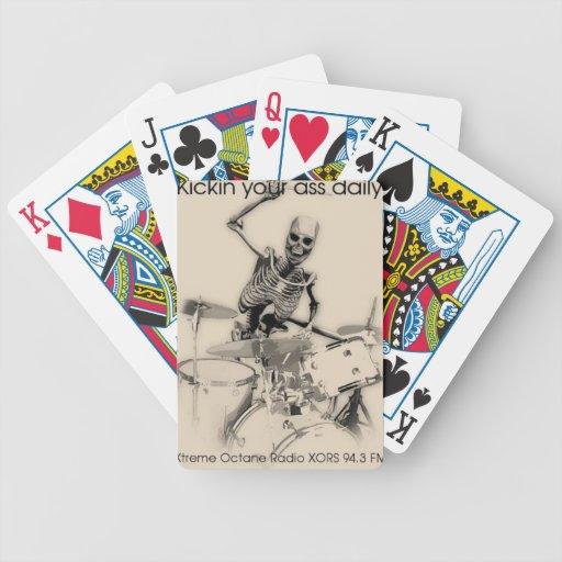 Naipes de la radio del octano de Xtreme Baraja Cartas De Poker