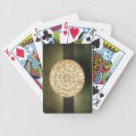 Naipes de la rueda del zodiaco barajas de cartas
