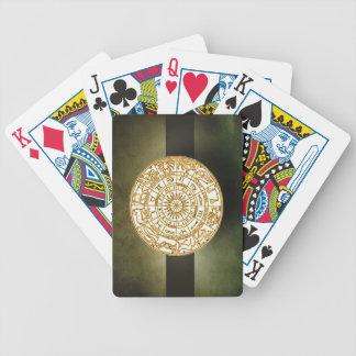 Naipes de la rueda del zodiaco cartas de juego