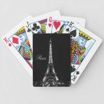 Naipes de la torre Eiffel Baraja De Cartas