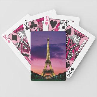 Naipes de la torre Eiffel Barajas De Cartas