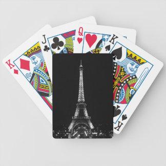 Naipes de la torre Eiffel Cartas De Juego