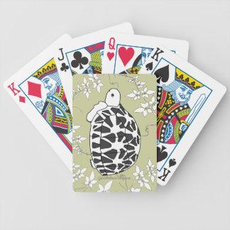 Naipes de la tortuga de la estrella susie de las cartas de juego