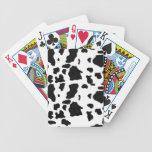 naipes de la vaca baraja de cartas