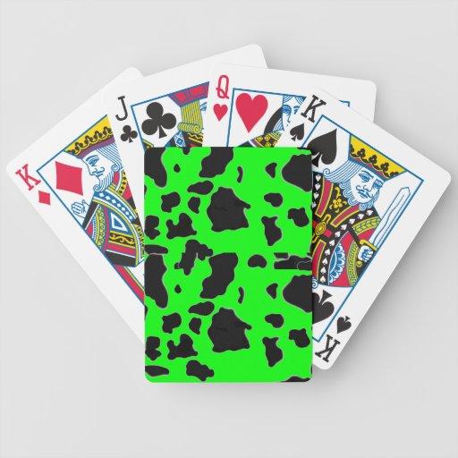 naipes de la vaca barajas de cartas