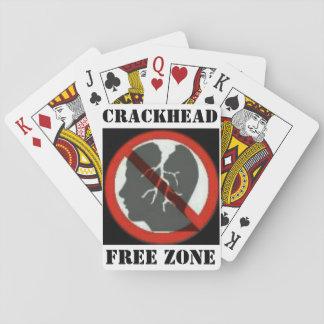 Naipes de la zona franca de Crackhead Barajas De Cartas
