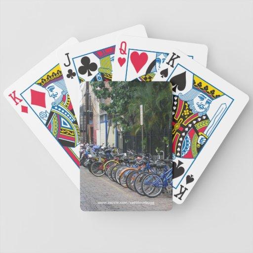 Naipes de las bicicletas de Key West Cartas De Juego