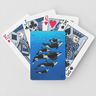 Naipes de las orcas de Orlando Baraja