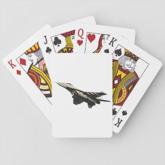 Naipes de los aviones de combate