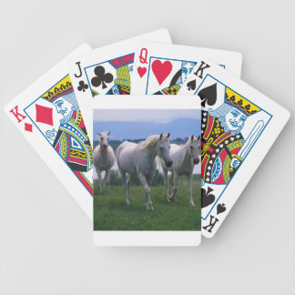 Naipes de los caballos blancos