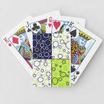 Naipes de los círculos barajas de cartas
