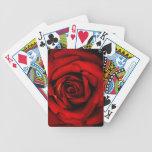 Naipes de los derechos del rosa rojo baraja cartas de poker