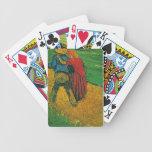 """Naipes de los """"dos amantes"""" de Vincent van Gogh Baraja Cartas De Poker"""