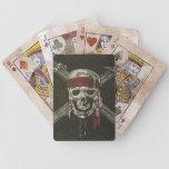 Naipes de los piratas baraja de cartas