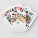 Naipes de los Seashells Cartas De Juego