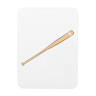 Naipes de madera de encargo del palo del softball imanes