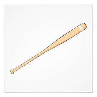 Naipes de madera de encargo del palo del softball foto