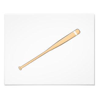 Naipes de madera de encargo del palo del softball arte fotográfico