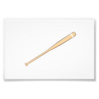 Naipes de madera de encargo del palo del softball fotografías