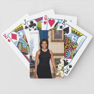 Naipes de Michelle Obama Cartas De Juego