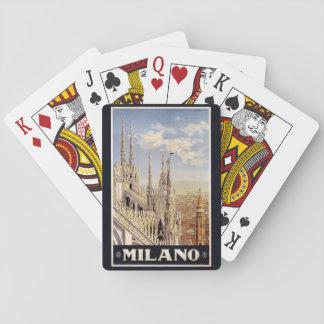 Naipes de Milano Milano Italia del vintage